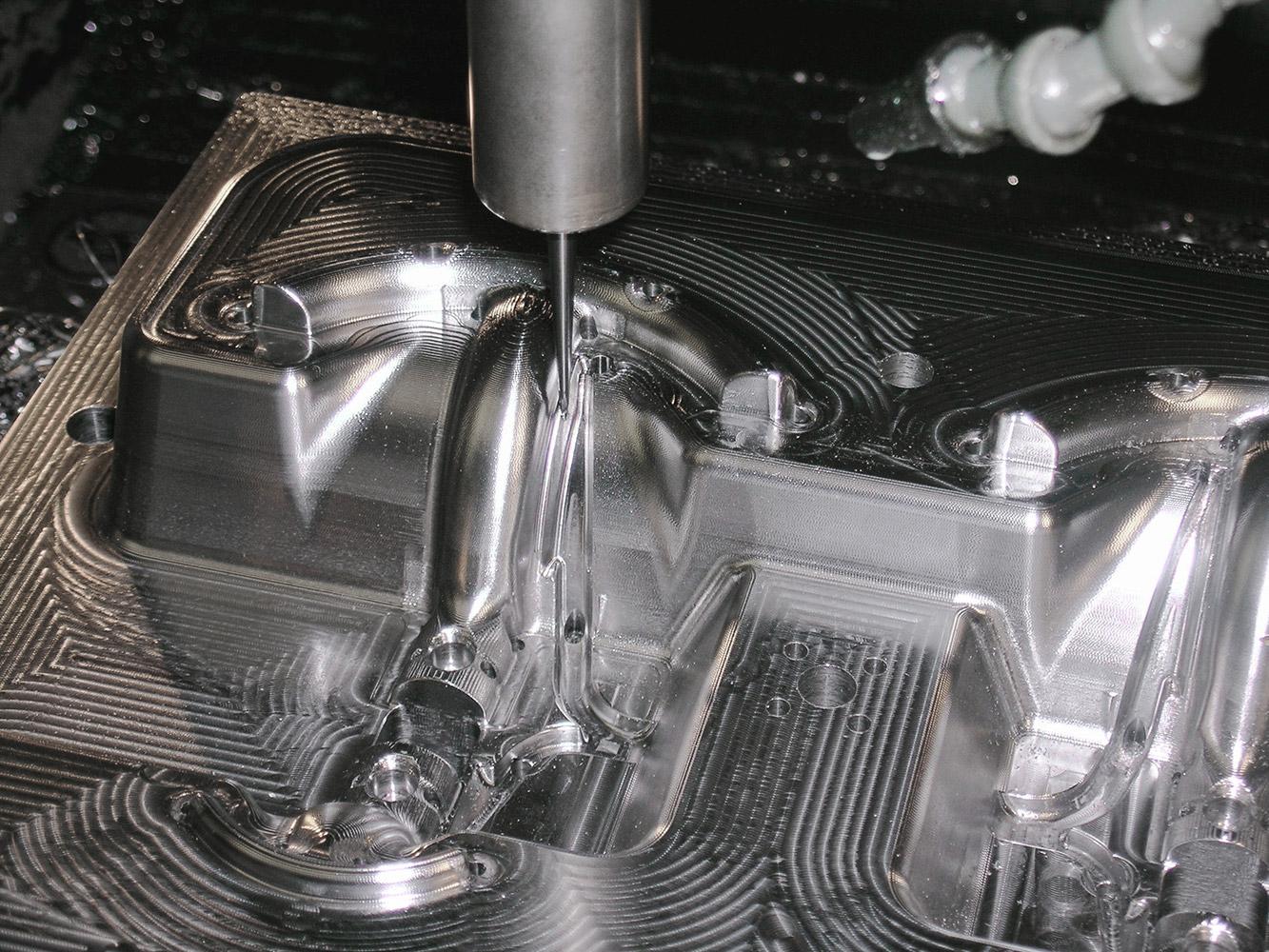 Lavorazione Stampo in Alluminio