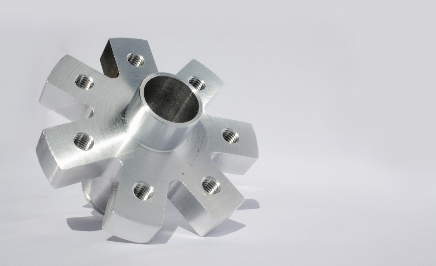 Componente Meccanico in Alluminio